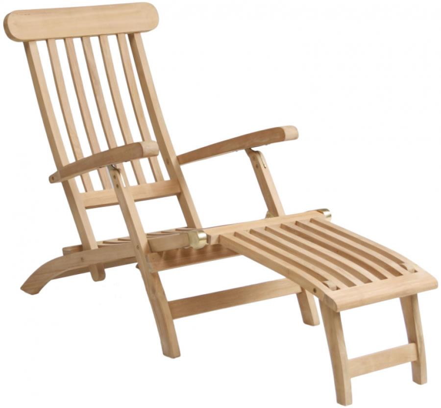 luxe deckchair teak handelsonderneming michielsen. Black Bedroom Furniture Sets. Home Design Ideas