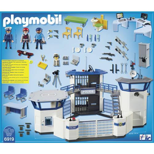 Playmobil politiebureau 6919 handelsonderneming - Caserne de police playmobil ...